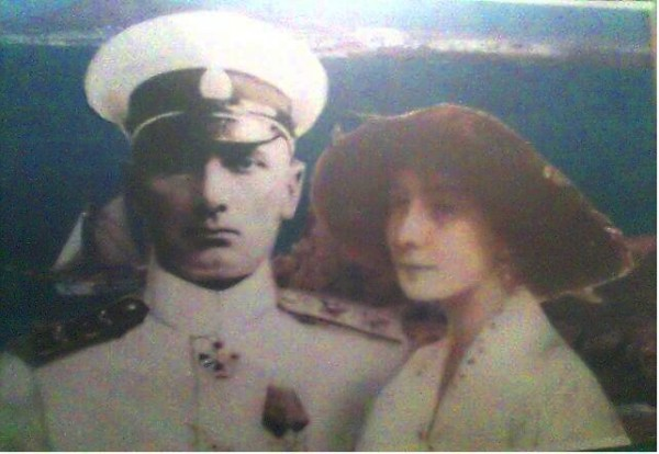 Колчак и Тимирёва в цвете