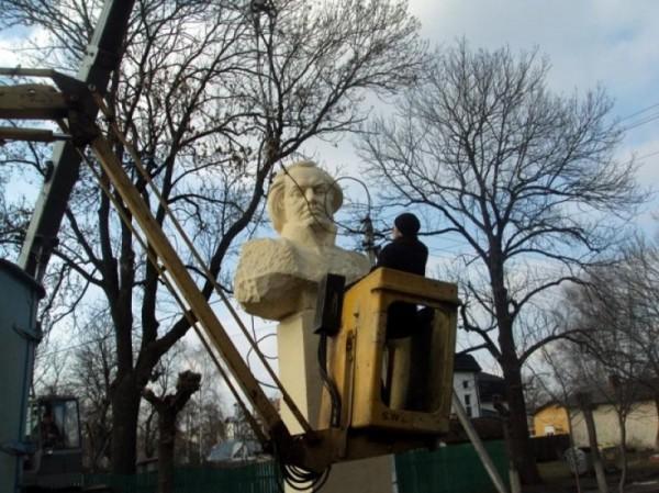 Уничтожение памятника Кутузову