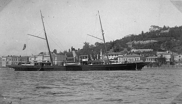 Яхта Врангеля Лукулл