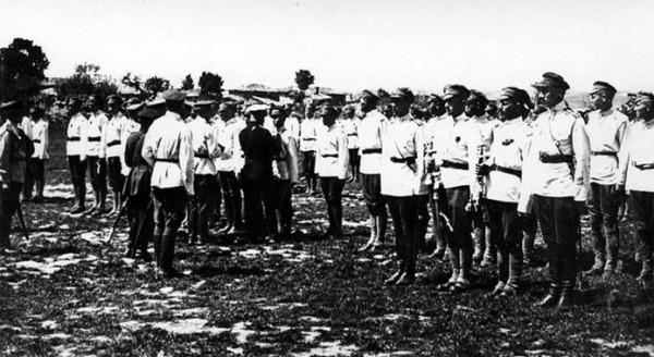 Парад белых в Галлиполи