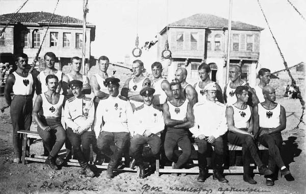 Белые офицеры в Болгарии