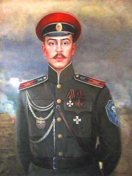Неженцев - корниловский полковник
