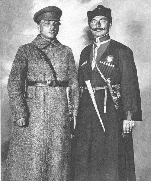 Будённый и Ворошилов - фото Гражданской войны