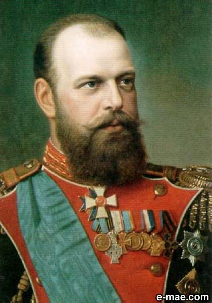 Александр Миротворец преображенцем