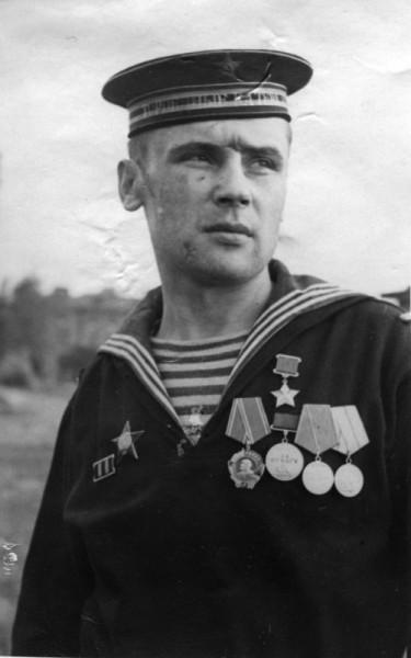 Виктор Кусков вскоре после награждения