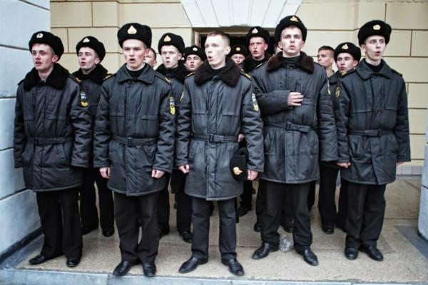 Севастопольские курсанты в полный рост