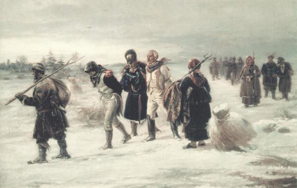 Шаромыжники в плену