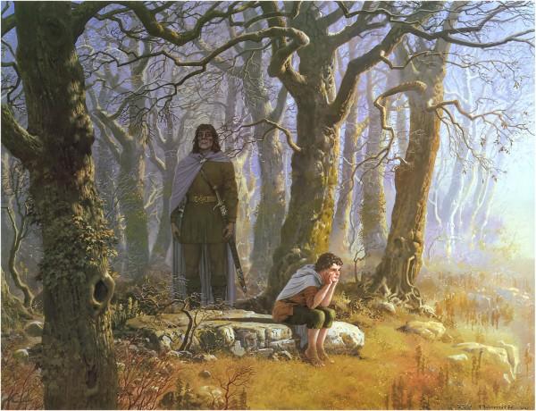Боромир находит Фродо