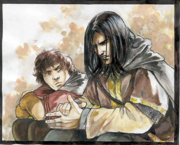 Боромир и Фродо