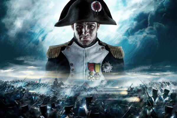 Наполеон на фоне побоища
