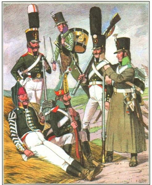 Армейская пехота 1805