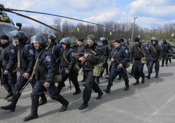 Американские наёмники высаживаются в Краматорске