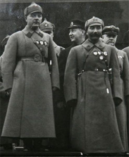 Будённый и Ворошилов