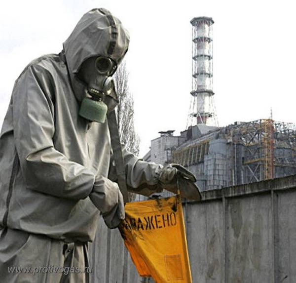 Чернобыль - дезактивация
