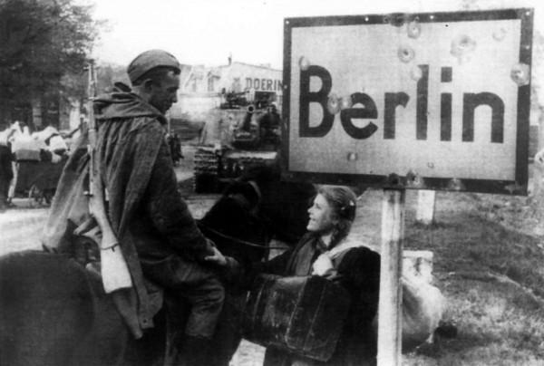На Берлин идут ребята