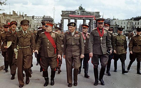Маршал Жуков и союзническое командование