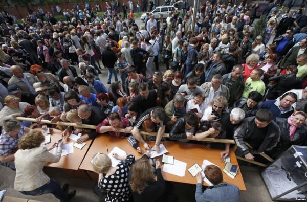Референдум в Донецке и Луганске