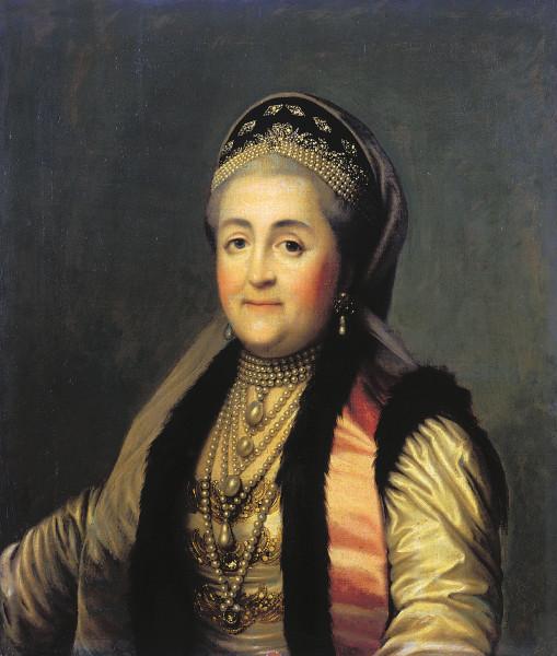 Екатерина Вторая в старости