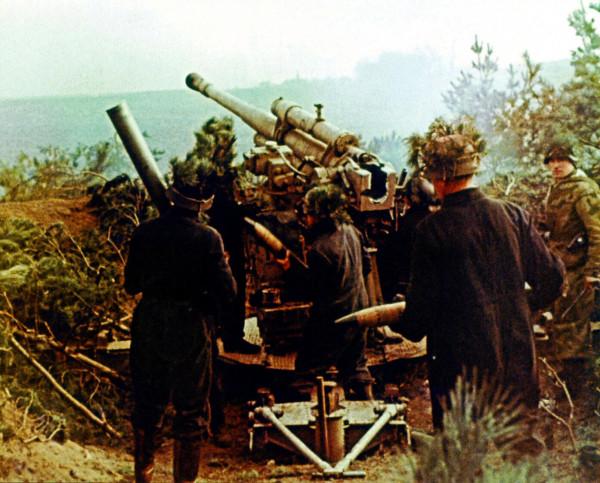 Немцы на Зееловских высотах