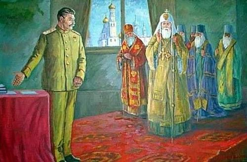 Встреча Сталина с митрополитами