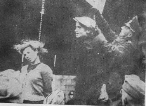 Немцы казнят мирных жителей