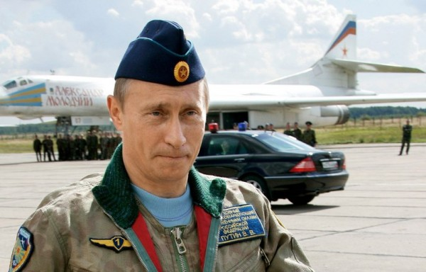 Путин в лётной форме