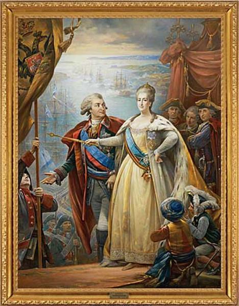 Потёмкин и Екатерина