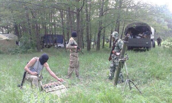 Стрелковцы получили оружие