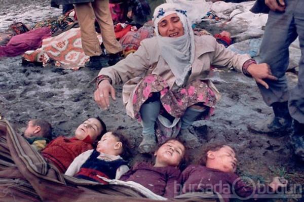 Арабская женщина оплакивает своих убитых детей - Сабра и Шатила