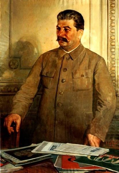 Сталин убеждённый