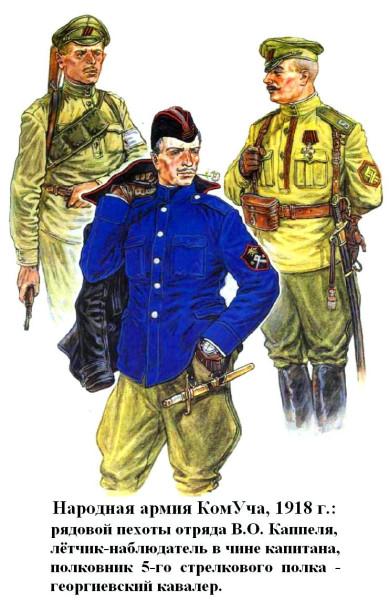 Народная Армия КомУча 1918