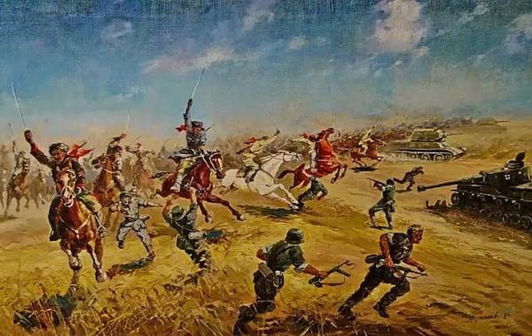 КМГ 4-го Гвардейского Кубанского в бою