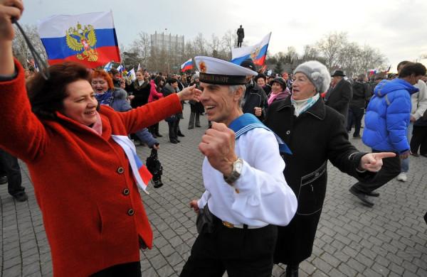 Референдум в Крыму - всенародное ликование