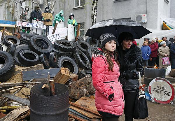 Девочки с Антимайдана