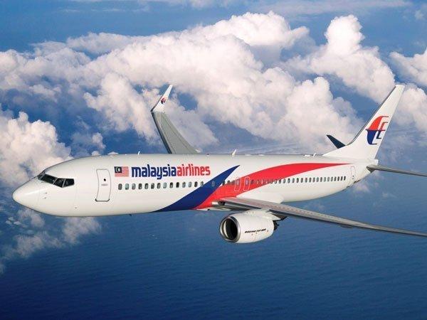 Малайский боинг в воздухе