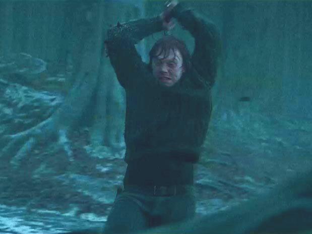 Рон с мечом Годрика