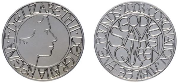 Великобритания 5 фунтов: десять самых красивых монет