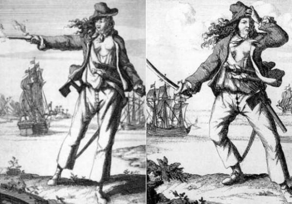 Энн Бонни и Мэри Рид - женщины пиратки