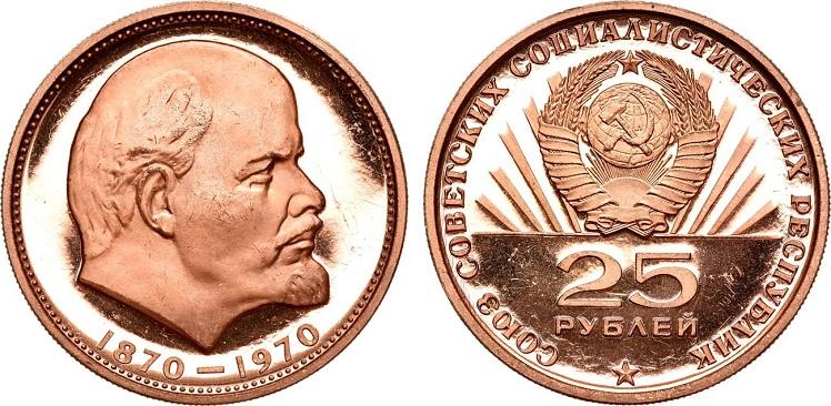 Пробные монеты СССР с портретом Ленина