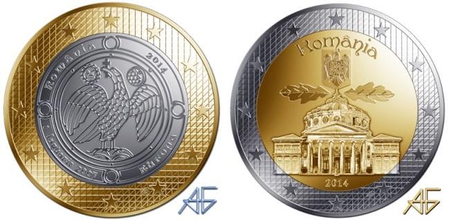 Фантазийные проекты монет разных стран мира от итальянского художника Frizio -