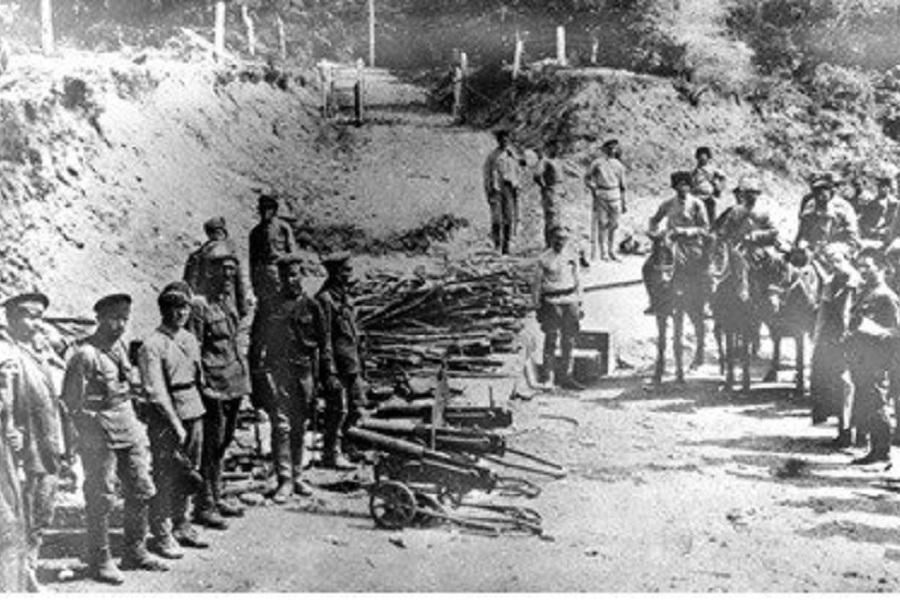 Капитуляция Кубанской армии генерала Морозова