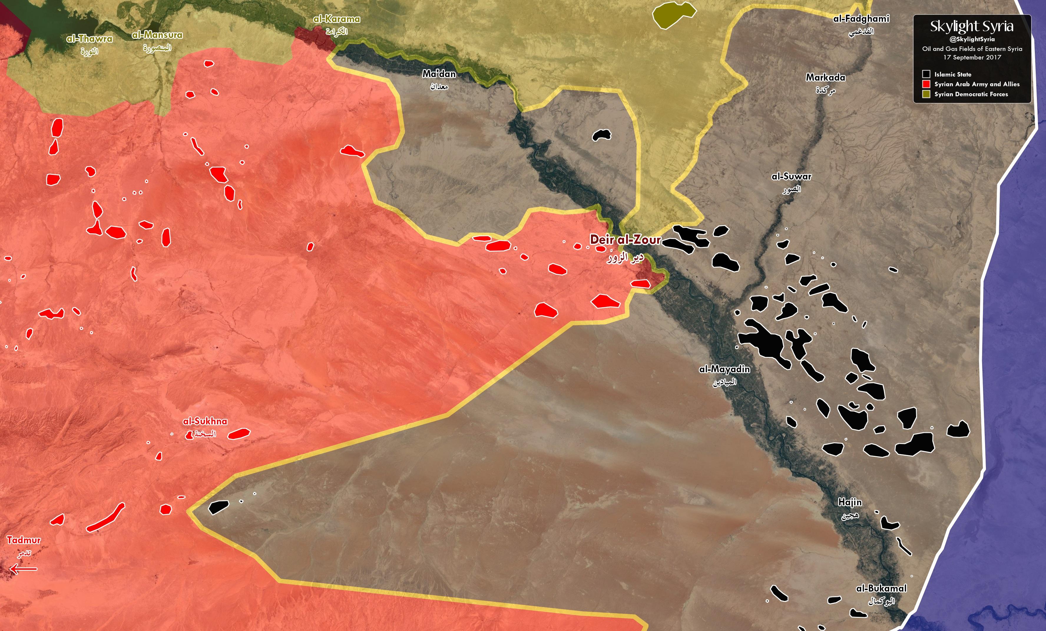 Россия делит Сирию. По американским источникам.
