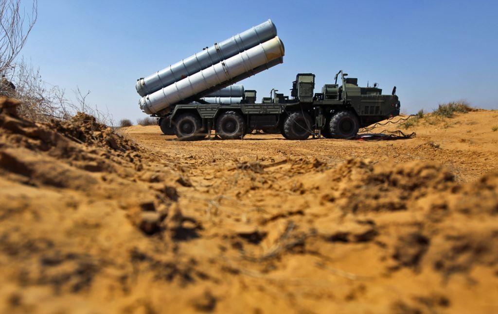 С-300 в составе сирийских ПВО.  Михаил Ошеров