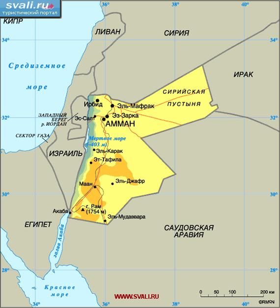 Слабый король слабой страны. Иордания.