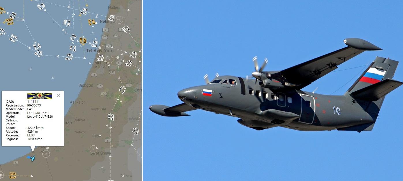 Россия впервые начала проводить разведку воздушного пространства Израиля.  Михаил Ошеров