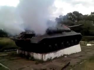 Константиновка заводит танки