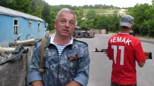 У Ополченцев с блок поста станицы Луганская