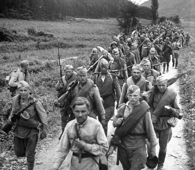 Советская армия в Корее, 1945