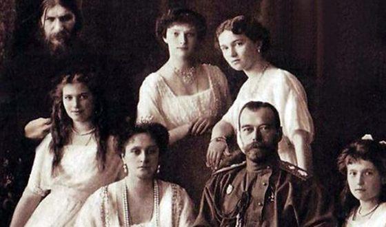 Царская семья и Распутин.jpg