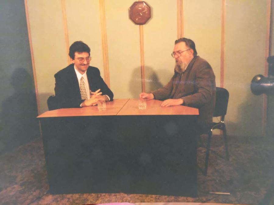С академиком А.М.Панченко